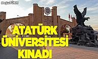 Atatürk Üniversitesi kınadı