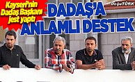 Kayserispor Başkanı'ndan Erzurumspor'a tam destek