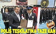 Polis adaylarının mezuniyet heyecanı