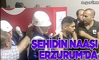 Şehit Güntekin'in cenazesi Erzurum'a getirildi