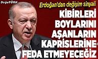 Cumhurbaşkanı Erdoğan'dan AK Parti'de değişim sinyali