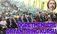 Erzurum'da öğretmenler için oryantiring kursu açıldı
