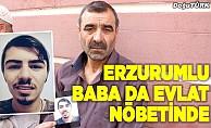 Erzurumlu baba evladı için Diyarbakır'da nöbette!