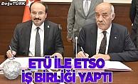 ETÜ ile ETSO iş birliği protokolü imzaladı