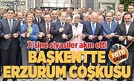 Ankara'da Erzurum Günleri coşkusu