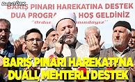 Barış Pınarı Harekatı'na Erzurum'dan destek