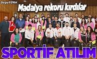 Atatürk Üniversitesinde sporda birincilik sevinci