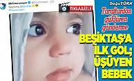 """Erzurumspor'dan Beşiktaş'a """"üşüyen bebek"""" paylaşımı"""