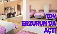 Türkiye Diyanet Vakfı, Erzurum'da yurt açtı