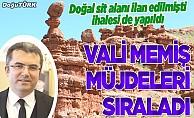 Vali Memiş müjdeledi: Bütün Türkiye görecek!