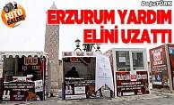 Erzurum'dan İdlib'e yardım kampanyası