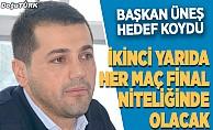 Erzurumspor, TFF 1. Lig'de şampiyon olmak istiyor