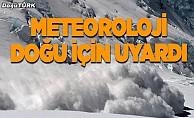 Doğu Anadolu'da çığ uyarısı
