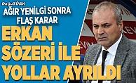 BB Erzurumspor, Erkan Sözeri ile yollarını ayırdı