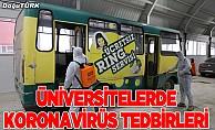Üniversitelerde koronavirüs tedbirleri