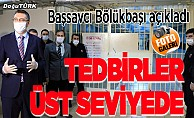 Erzurum'daki cezaevlerinde koronavirüs tedbirleri en üst düzeyde