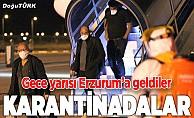 Mali ve Nijer'den Erzurum'a getirildiler