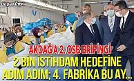 Akdağ'a 2. OSB brifingi
