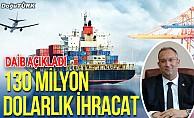 Doğu Anadolu'dan mayısta 130 milyon 648 bin dolarlık ihracat