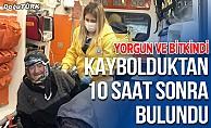Erzurum'da kaybolan kadın 10 saat sonra bulundu