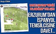 "Erzurum'dan Barça'ya ""Palandöken"" daveti"