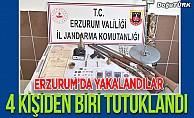 Erzurum'da yakalandılar; Biri tutuklandı