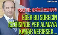 Prof. Dr. Sevimli'den 'rektör adaylığı' açıklaması