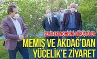 Vali Memiş ve Milletvekili Akdağ'dan ETSO Başkanı Yücelik'e ziyaret