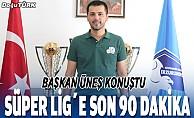 BB Erzurumspor, Süper Lig için son 90 dakikaya çıkıyor