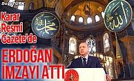 Erdoğan imzayı attı; Karar Resmi Gazete'de