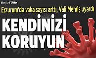 Erzurum'da Covid-19 patlaması!