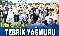 Futbol camiasından BB Erzurumspor'a tebrik