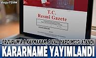 bMülki İdare Amirleri Atama Kararnamesi Resmi Gazete#039;de/b