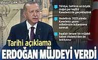 Cumhurbaşkanı Erdoğan: 320 milyar metreküp doğal gaz rezervi keşfettik
