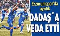 Golcü futbolcu Erzurumspor'dan ayrıldığını açıkladı