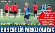 Mehmet Özdilek: Çok yoğun bir maç trafiği olacak