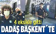 BB Erzurumspor, dört eksikle başkentte