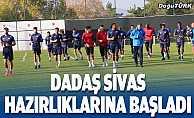 Erzurumspor Sivasspor maçı hazırlıklarını sürdürdü