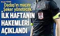 Süper Lig'de ilk hafta maçlarını yönetecek hakemler açıklandı