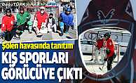 Erzurum'da kış sporları vatandaşlara tanıtıldı