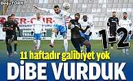 BB Erzurumspor ligin dibine demir attı…