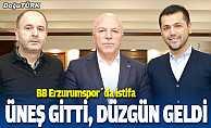 Erzurumspor'da başkan Hüseyin Üneş istifa etti
