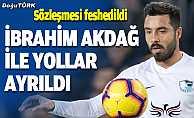 Belediye Erzurumspor'da İbrahim Akdağ ile yollar ayrıldı