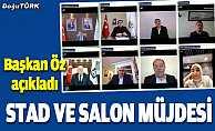 Erzurum'a stat ve salon müjdesi