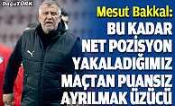 Bakkal Galatasaray maçının ardından konuştu
