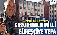 Milli Güreşçi Karabacak'a vefa