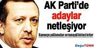 AK PARTİ'DE ADAYLAR NETLEŞİYOR
