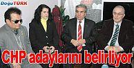 CHP ADAYLARINI BELİRLİYOR