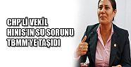CHP'Lİ VEKİL, HINIS'IN SU SORUNU TBMM'YE TAŞIDI