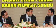 DASİDEF EYLEM PLANINI BAKAN YILMAZ'A SUNDU